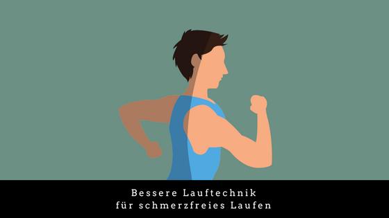 Bessere Lauftechnik für schmerzfreies Laufen