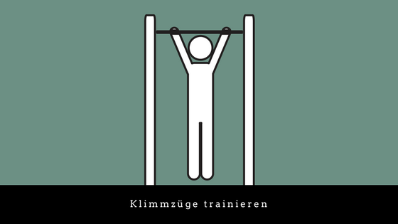 Klimmzüge trainieren