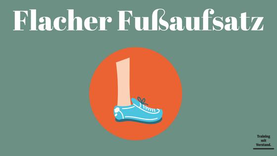 Richtig Laufen - Fußaufsatz - Atemrhythmus 3 - Grafik