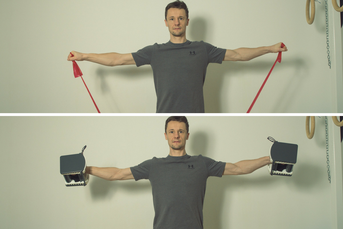 Schulter trainieren
