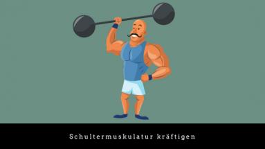 Schultermuskulatur kräftigen